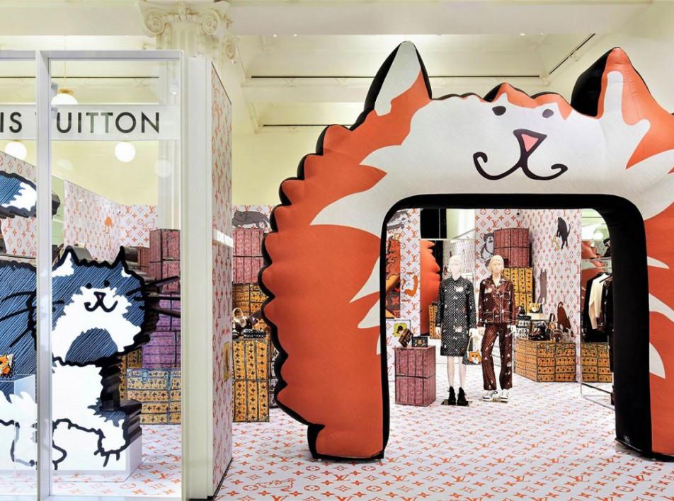 Louis Vuitton x Grace Coddinggton