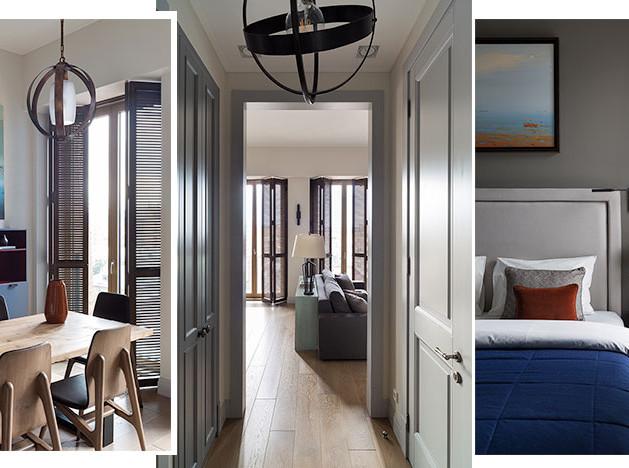 I.D. Interior Design: квартира с видом на Воробьевы горы