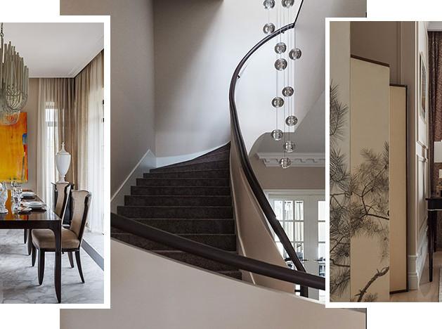 Татьяна и Дмитрий Хорошевы: загородный дом с контрастами