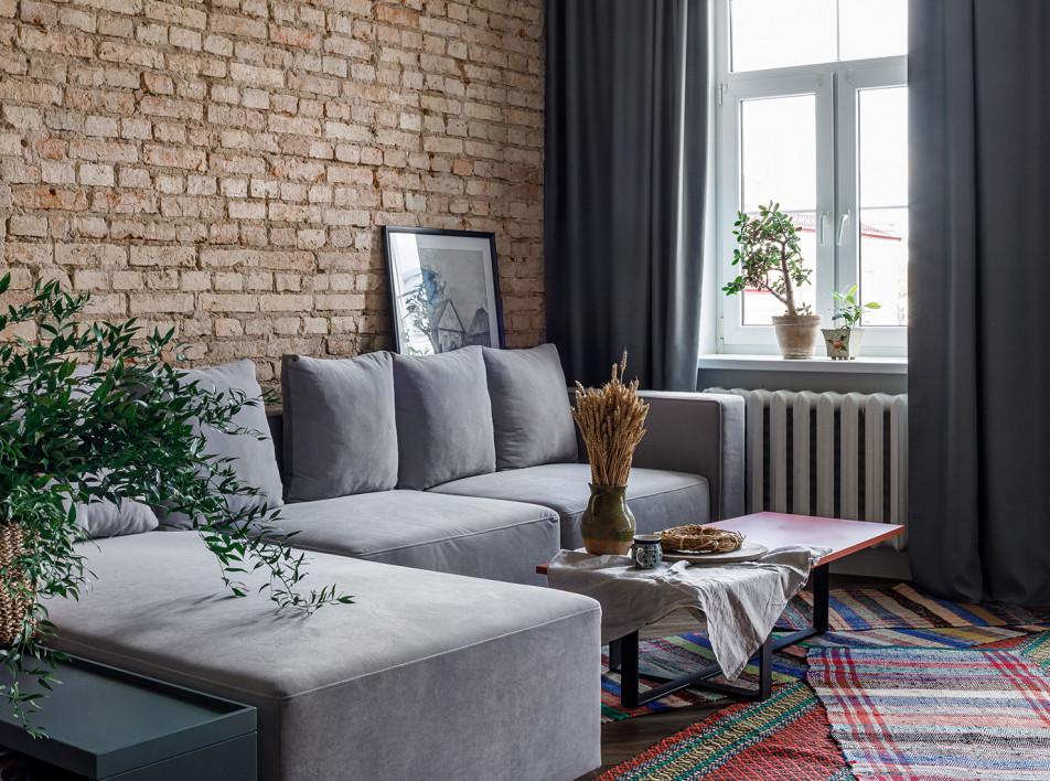 Маленькая квартира в Гродно по проекту студи DecoNova