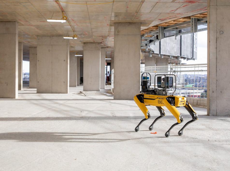 Foster + Partners адаптировали робота-пса Boston Dynamics для архитектурных задач