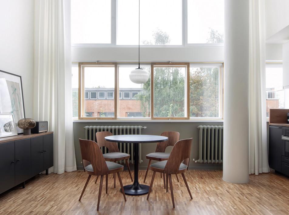 INT2architecture: двухуровневые апартаменты в Доме Наркомфина