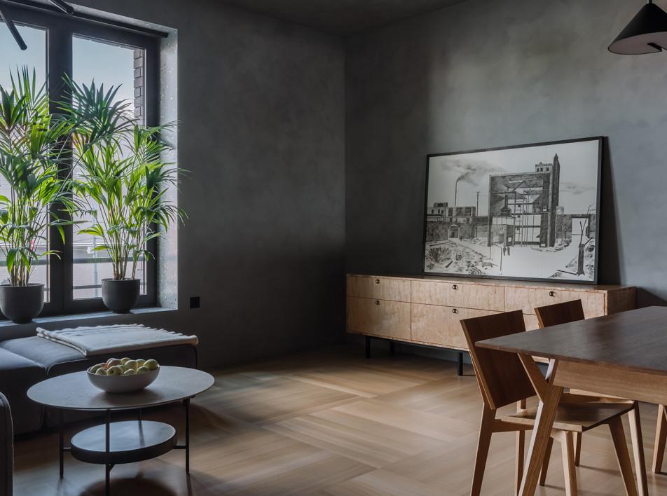 Евгения Нистратова: квартира архитектора в Москве