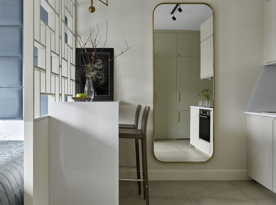 SODA Home Decor: функциональная квартира 28 кв. метров