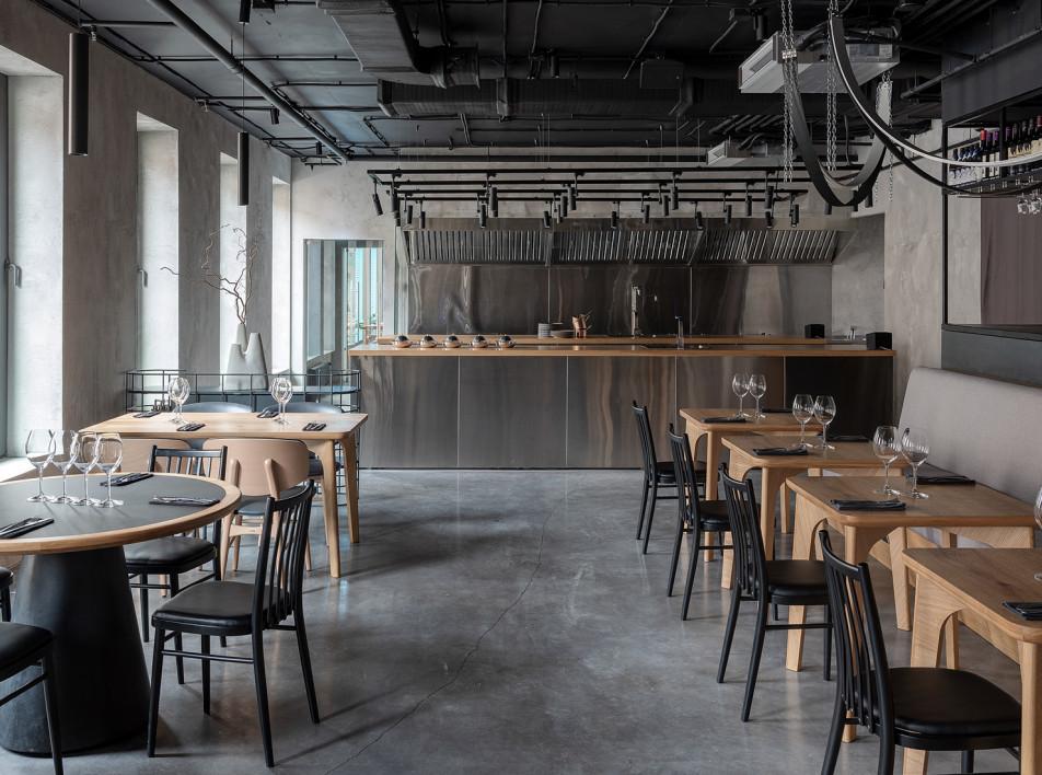 OPEN Interiors: ресторан в Москве
