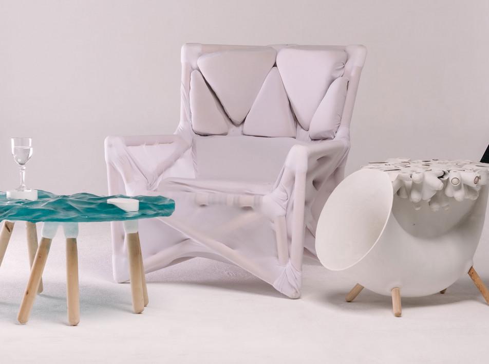 Ресайклинг и 3D-печать:  новые предметы Даника Удербекова