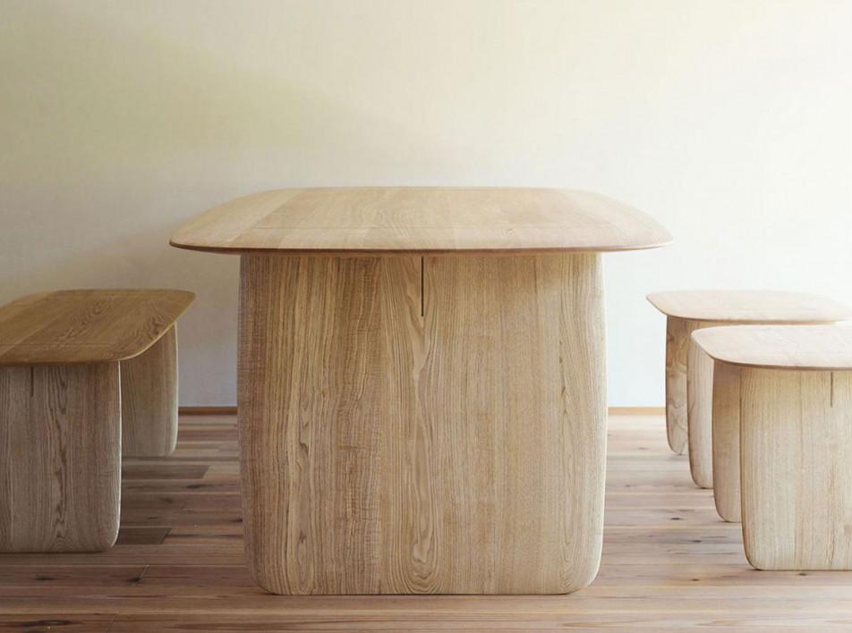 Claesson Koivisto Rune и японско-шведская мебель из дерева