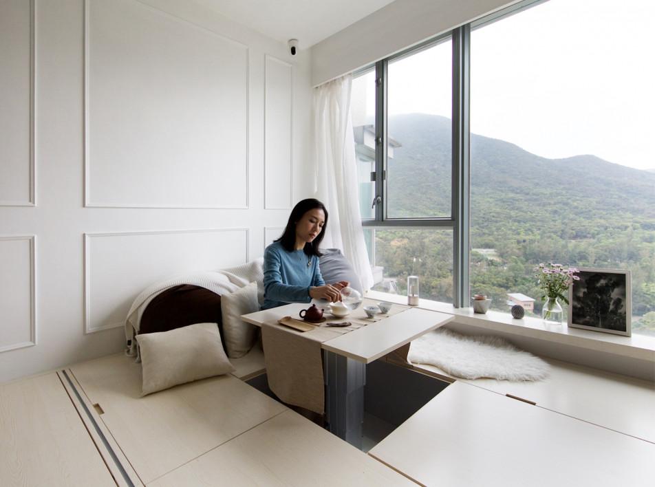 Маленькая квартира: 7 решений, которые экономят место