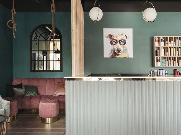 Cartelle design: салон красоты в Петербурге