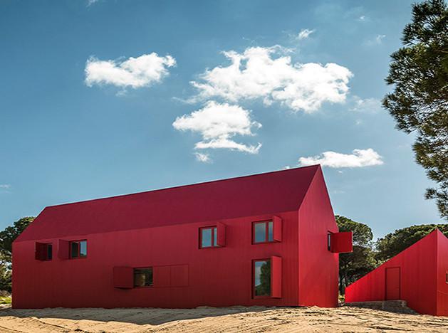 Красный дом Луиса Ребело де Андраде