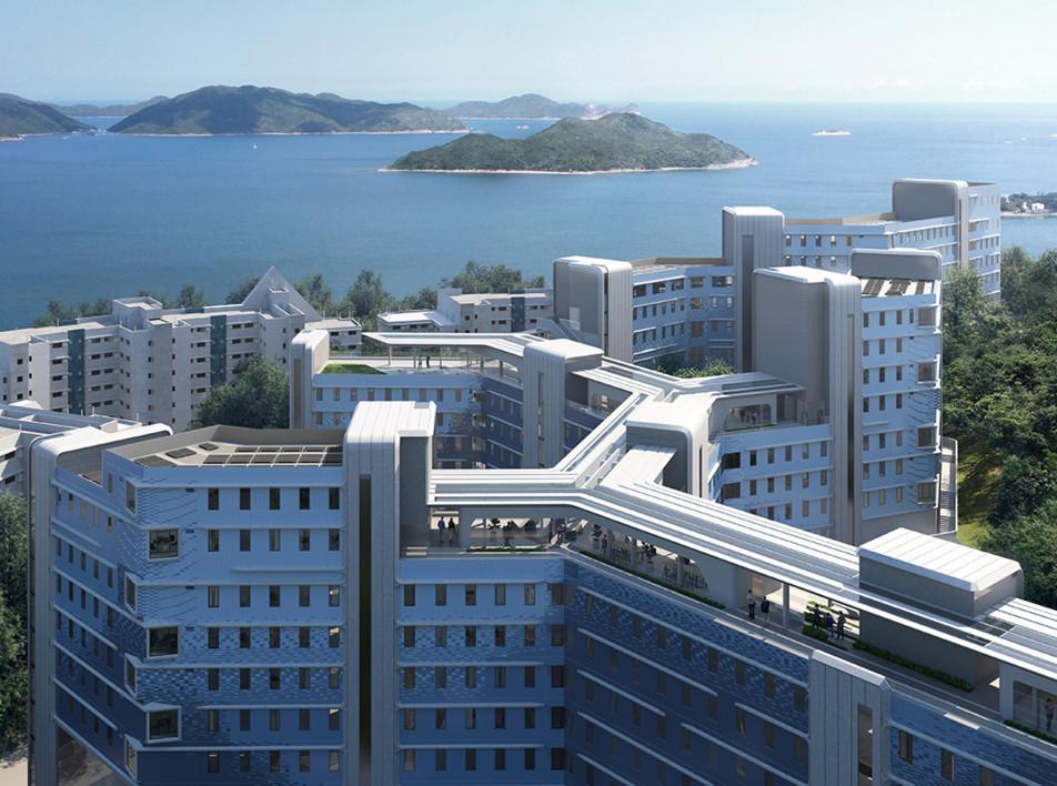 Студенческие общежития в Гонконге по проекту Zaha Hadid Architects