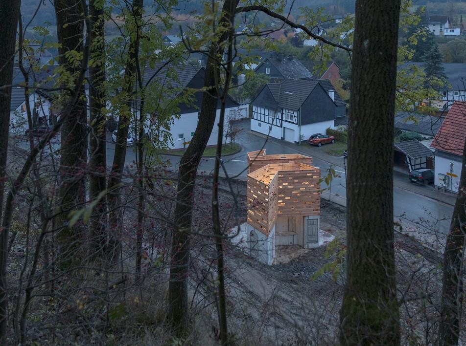 Christoph Hesse Architects: смотровые площадки в немецкой деревне