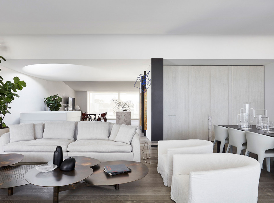 Jolson Architecture and Interiors: дом со скульптурной лестницей
