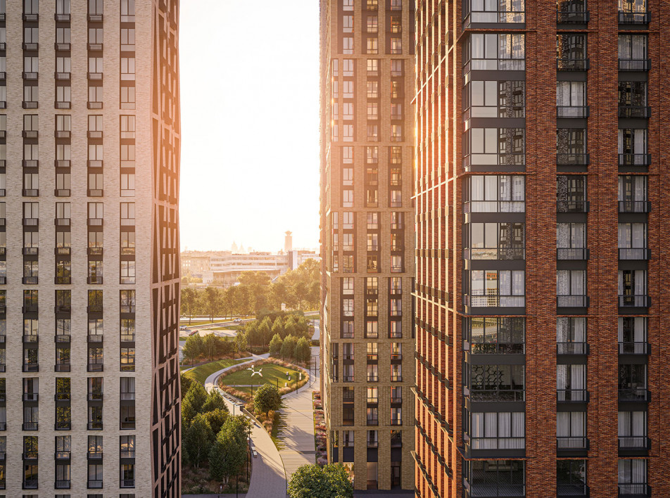 Архитекторы Speech: жилой комплекс «Метрополия»