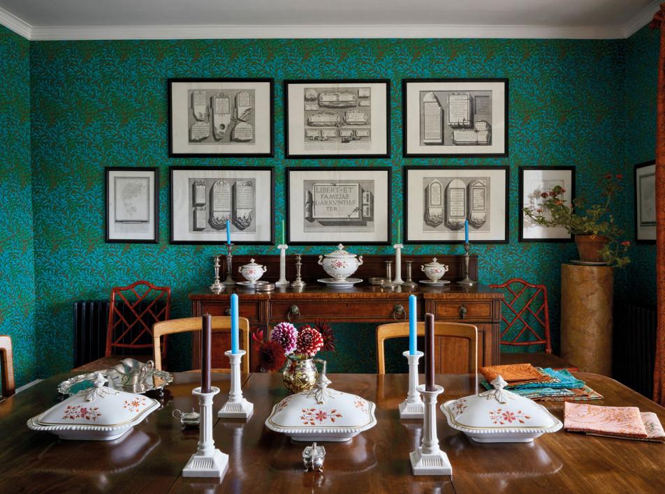 Английский декор: ткани и обои Бена Пентрита
