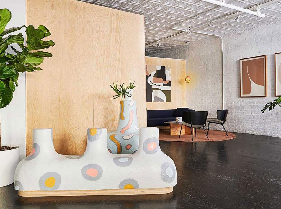 Офис для онлайн-галереи в Нью-Йорке