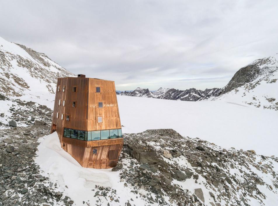 Stifter + Bachmann: убежище в Альпах