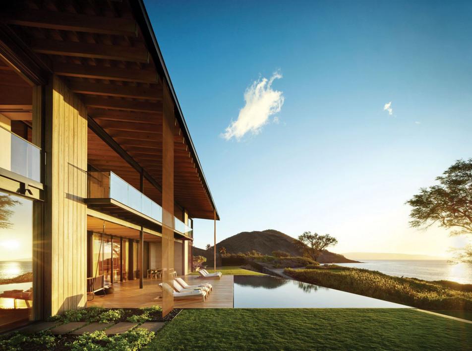 Walker Warner Architects: семейный дом на Гавайях