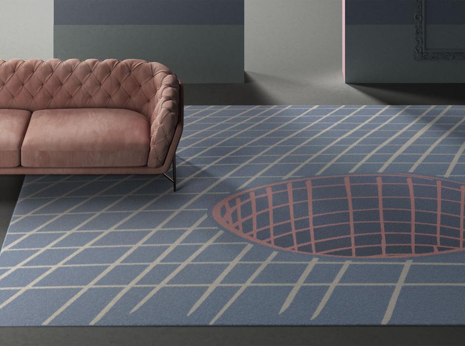 Тренды 2020/2021: ковры с оптическими иллюзиями Алена Жиля