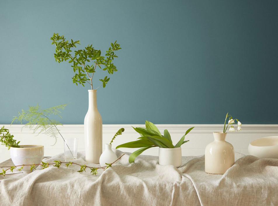 Цвет 2021: cине-зеленый Aegean Teal от Benjamin Moore