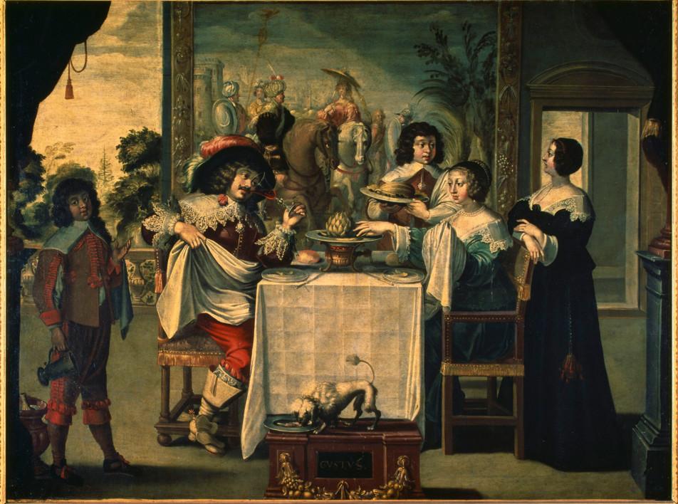 Застолье и декор стола: выставка в музее Лувр-Ланс