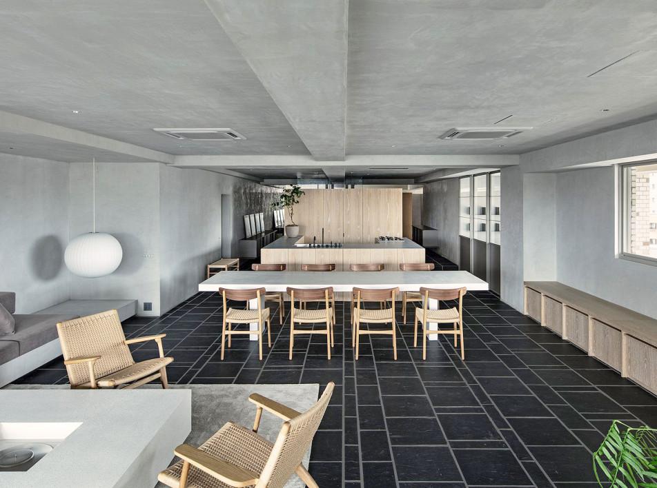 Suppose design office: частная резиденция в модном районе Токио