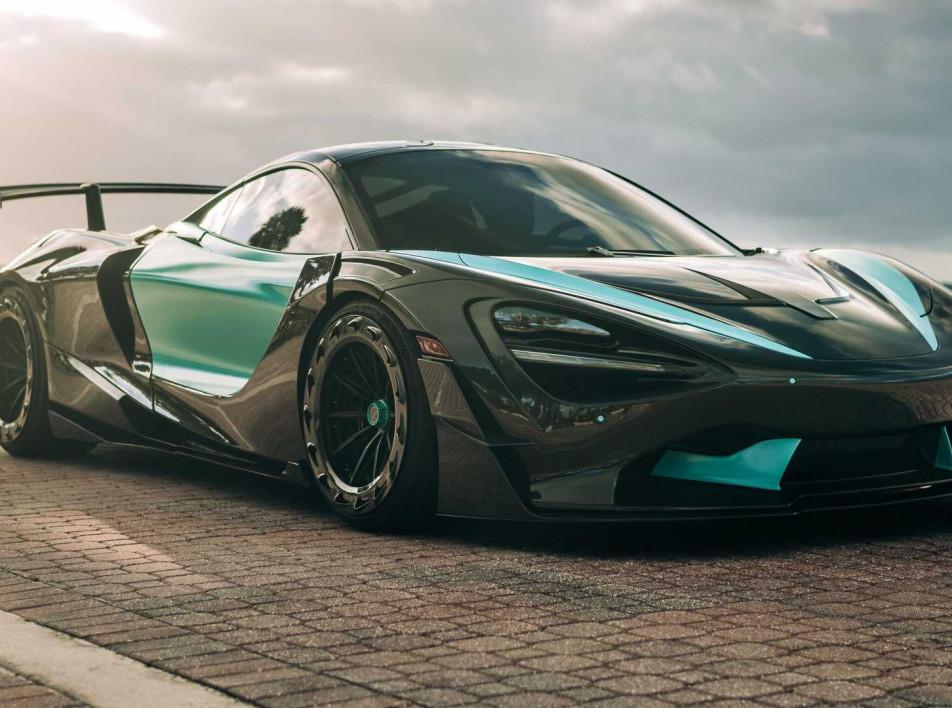 Суперкар 000 McLaren 720s: карбон и 3D-печать