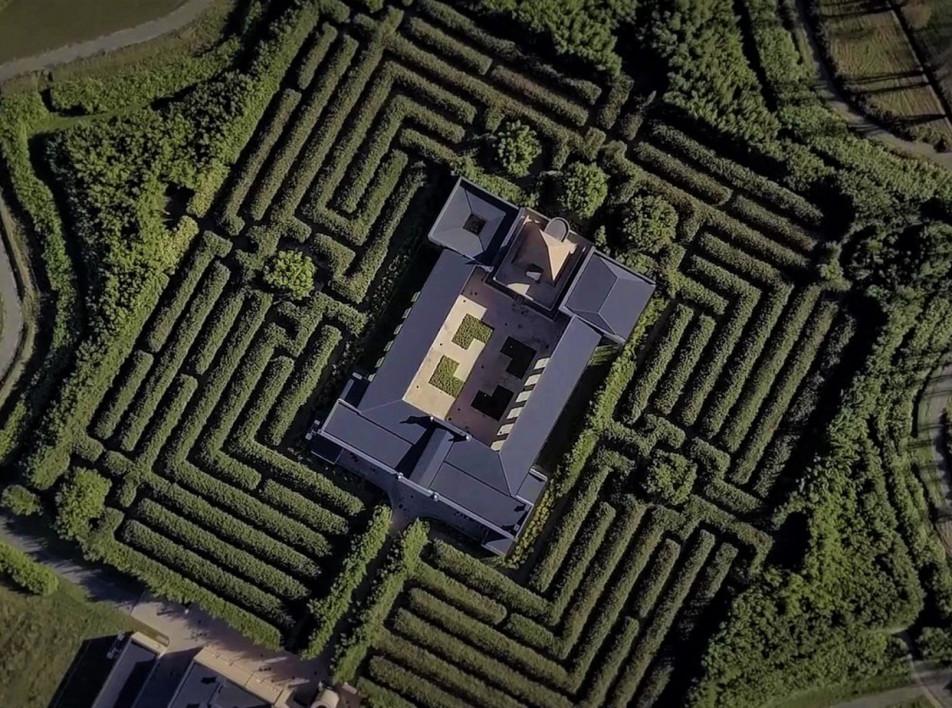 Labirinto della masone: самый большой лабиринт в мире и его автор