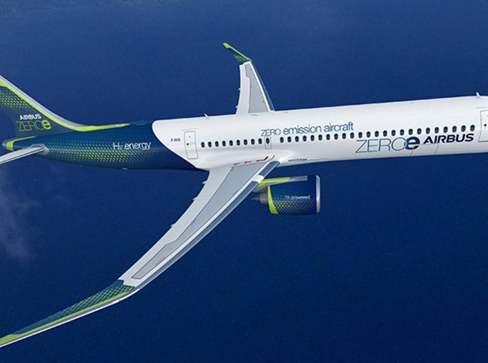 Airbus ZEROe: три самолета с нулевым выбросом