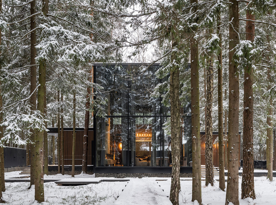 Buro511: дом-убежище в подмосковном лесу