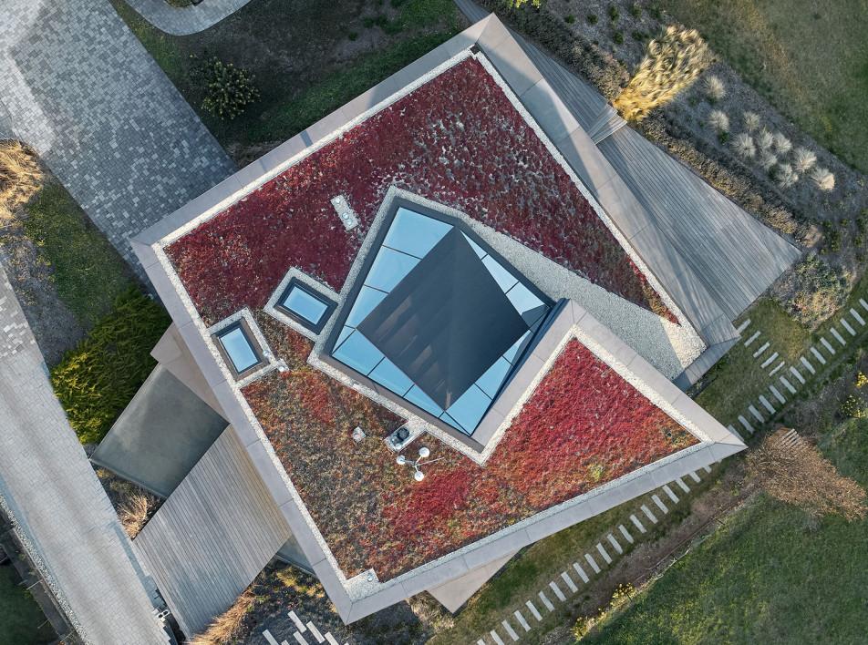 Космическая вилла в Праге по проекту студии Coll Coll