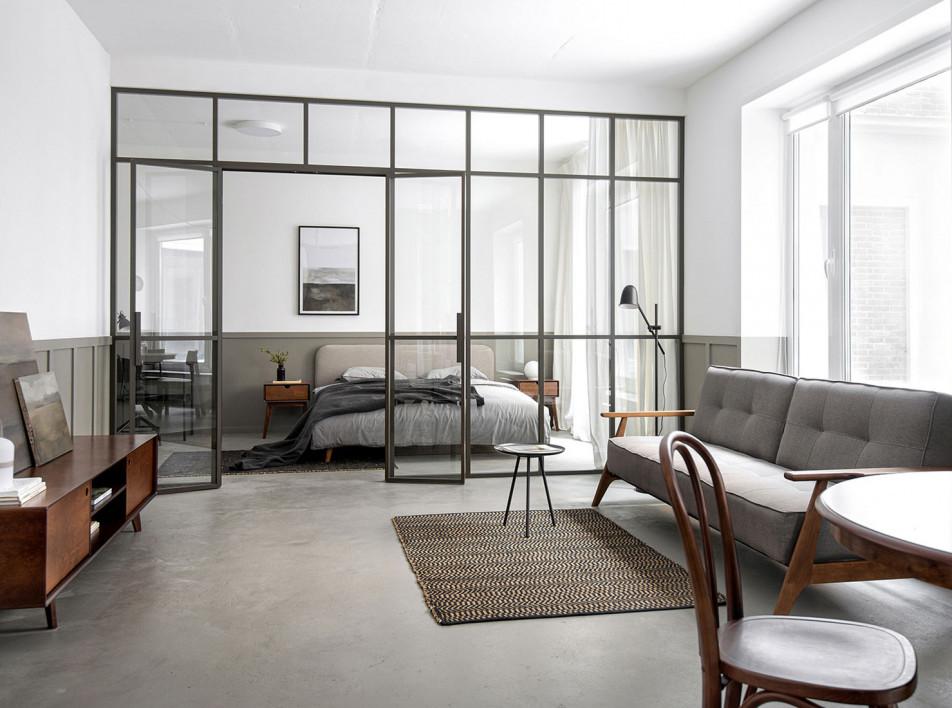 INT2architecture: квартира 58 кв. метров для сдачи в аренду
