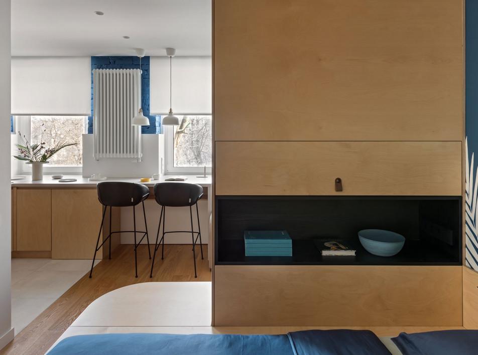 Kononov Studio: маленькая квартира 25 кв. метров