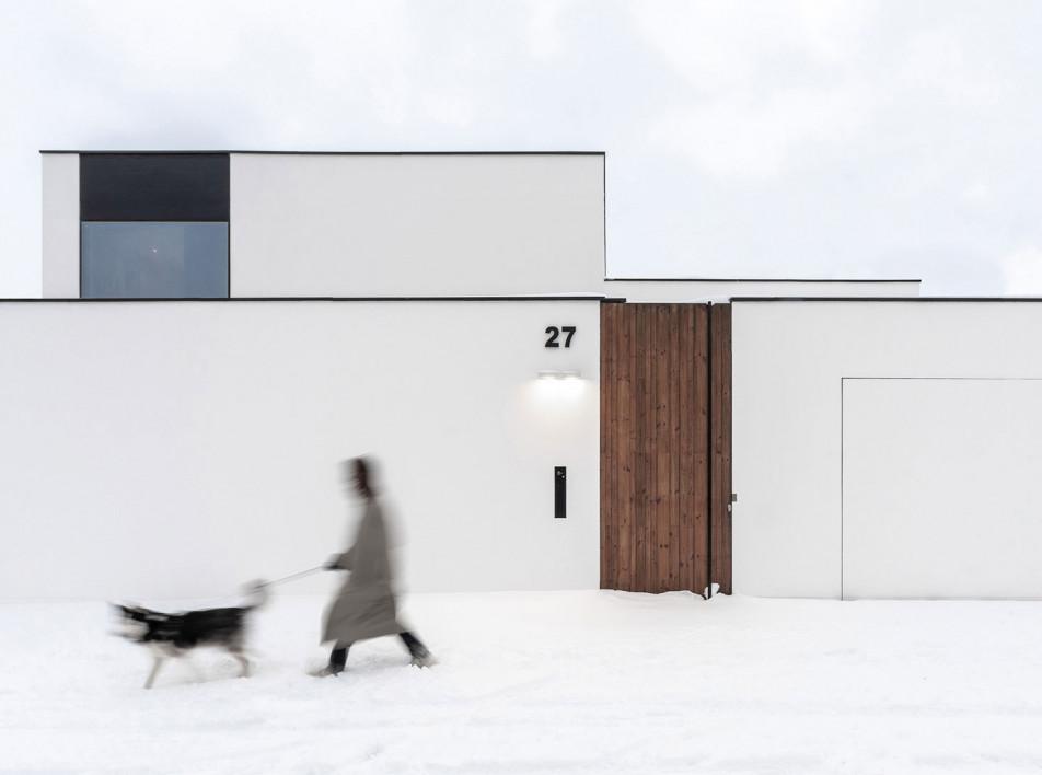 Line Architects: энергоэффективный дом в Кишиневе