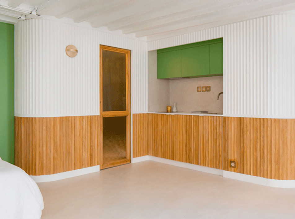 Пьер-Луи Герлье: квартира-студия 30 кв. метров