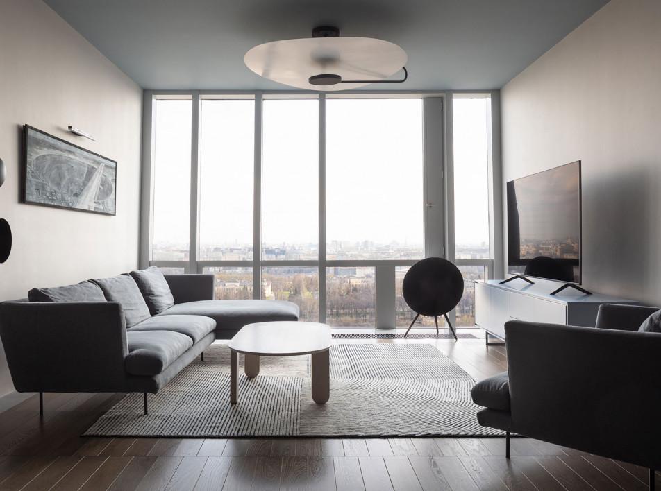 Семейная квартира 145 кв. метров по проекту  Saga