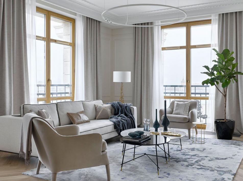 TS Design: семейная квартира в Петербурге