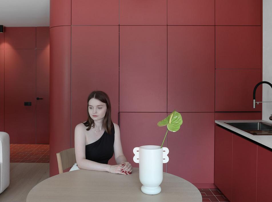 Zrobim Architects: квартира в Минске в цветах заката