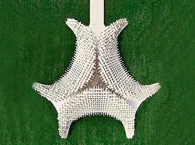 Деревянный павильон Петера Пихлера