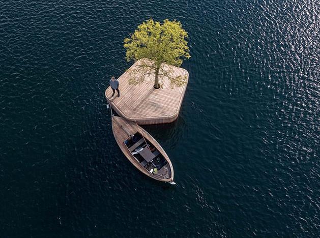 Parkipelago: дрейфующий остров в столице Дании