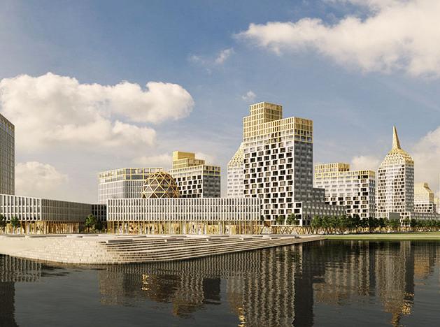 Голландские архитекторы возведут «золотой город» в Санкт-Петербурге