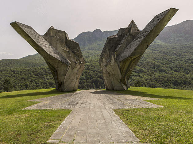 Балканские монументы: фотопроект Джонатана Хименеса