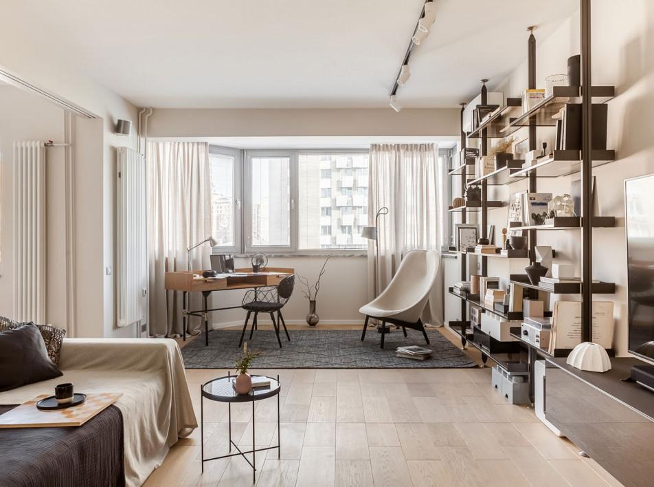 Марина Пахомова: московская квартира для молодой семьи