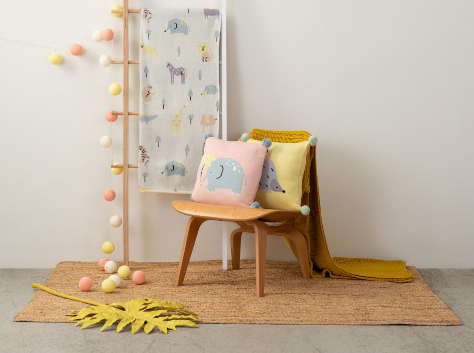 Tkano: коллекция текстиля для детей