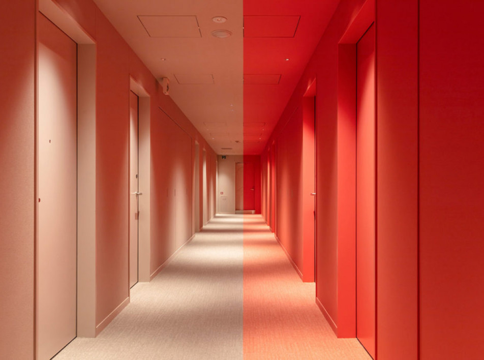 Klein Dytham Architecture: цветной отель Toggle