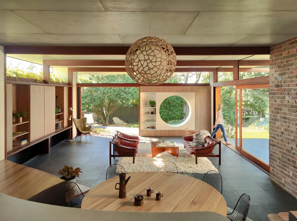 Студия CplusC: дом по мотивам фильма  Миядзаке «Мой сосед Тоторо»