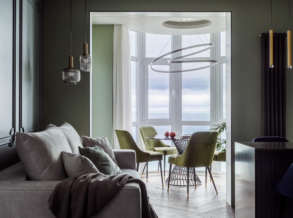 Nastigal Design: небольшая квартира для молодой пары в Сочи