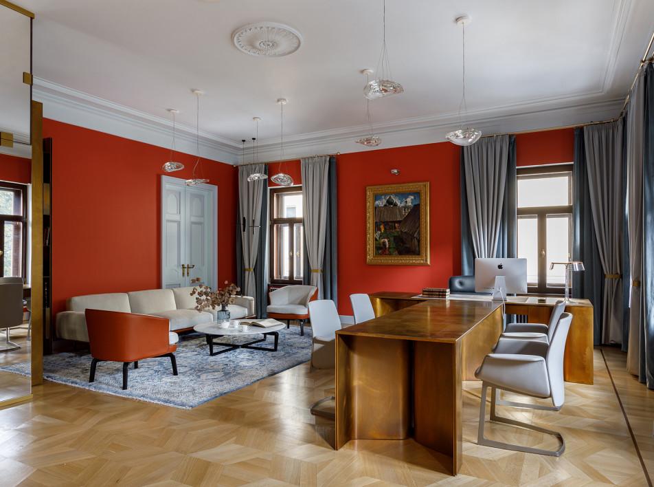 Марианна Петренко: офис в старинном московском особняке