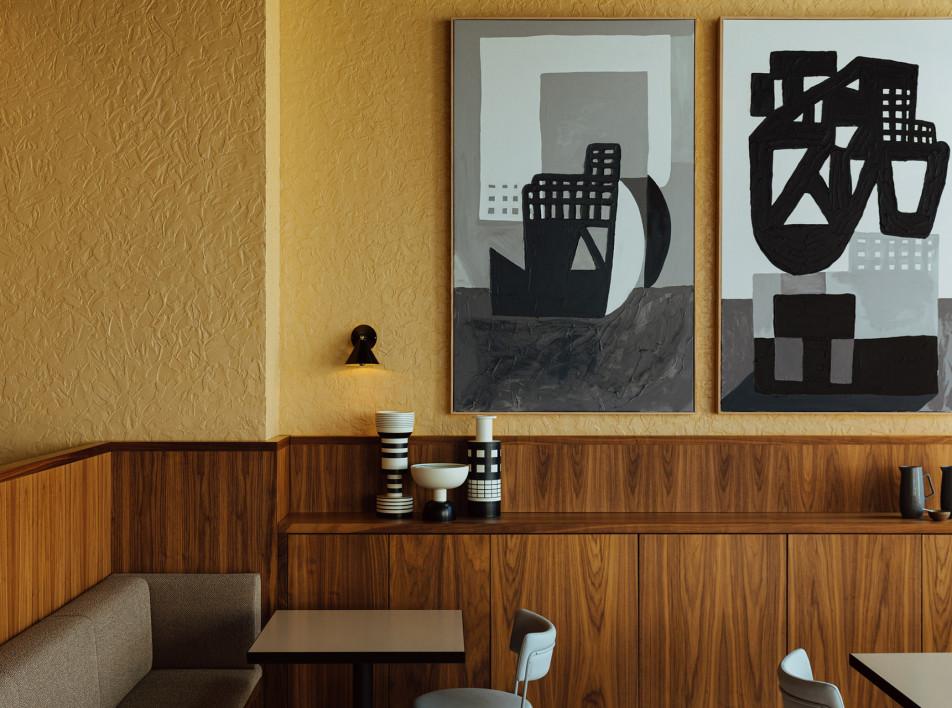 Genesin Studio и Walter Brooke: модернистский ресторан в Аделаиде