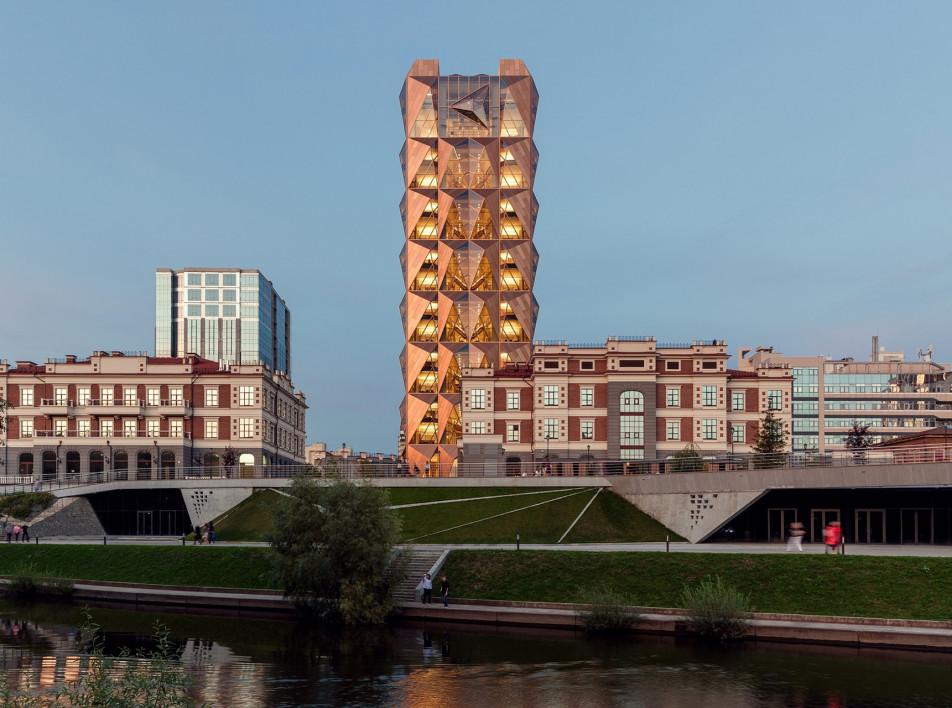 Foster + Partners: штаб-квартира РМК в Екатеринбурге